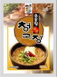 Chupunglyung Cheonggukjang instant food