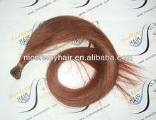 Italian glue keratin fusion hair extensions pre bonded i tip hair