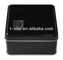 Men's Black Wallet Boxes/wallet tin box
