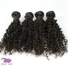 Ideal Hair Arts peruvian black star hair weave wholesale unprocessed curly virgin hair