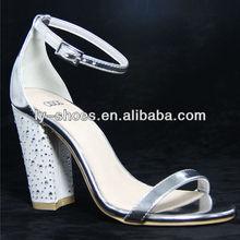 2012 fashion lady high heel summer sandal shoe