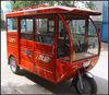 electric tricycle parts rickshaw tuktuk for 5 passengers