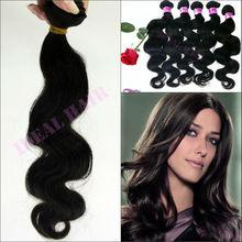 hot! natural color big body wave human remy hair true quality guaranteed malaysian virgin hair
