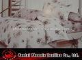 New design capas de edredão branco vermelho