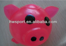 Squeeze pig toy soft sticky TPR stress toy
