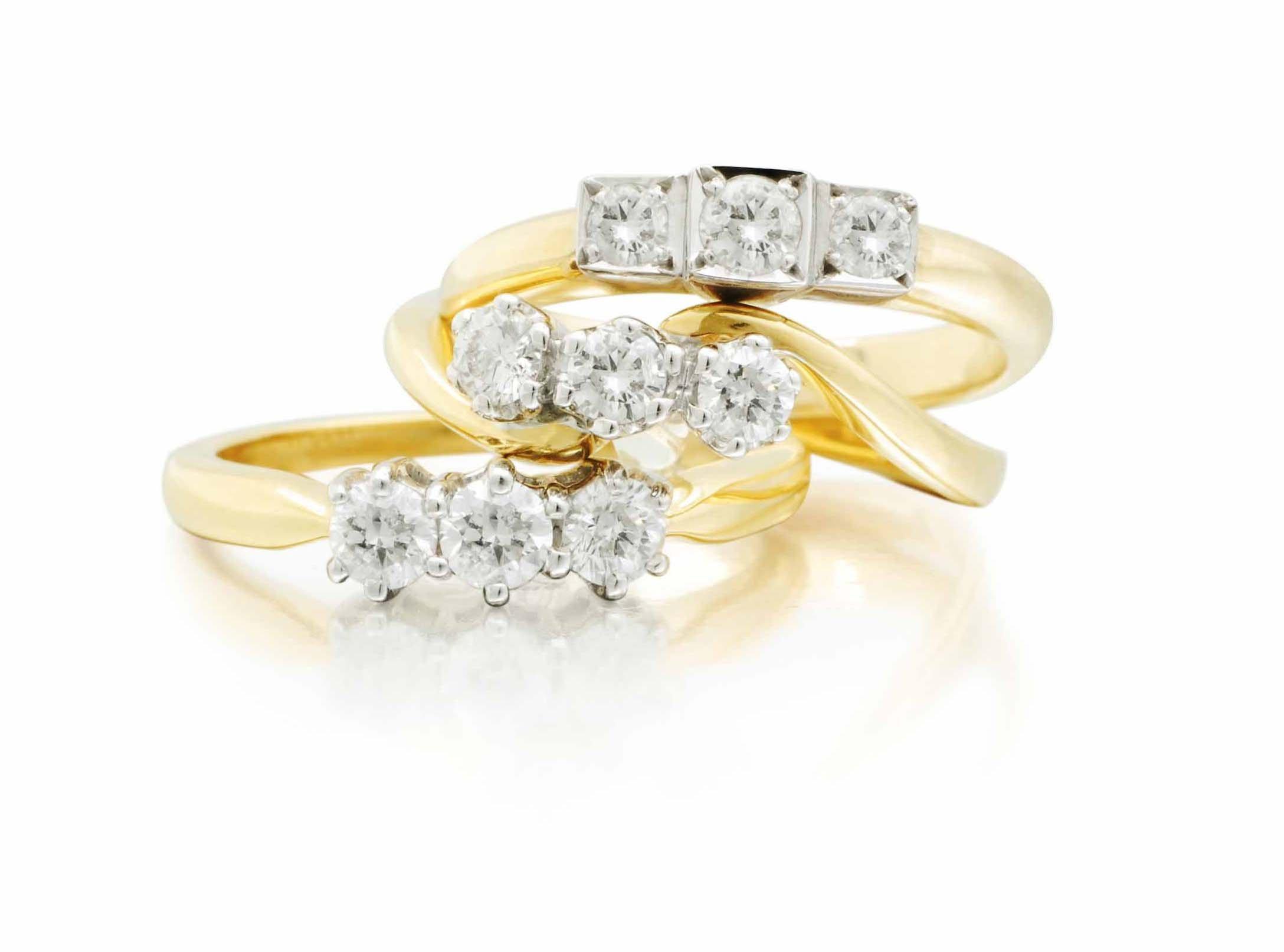 Фото бриллиантов кольца на свадьбу