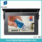 "car/bus used 19"" usb flash drive lcd digital signage display"