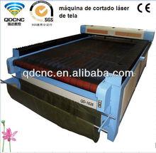 High Precision Fabric Applique Cutting Laser Machinery/80w Co2 Laser Power Supply for Laser Machine QD-1620/QD-1326