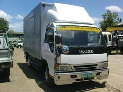 Isuzu Elf NPR Aluminum Van (14ft) truck