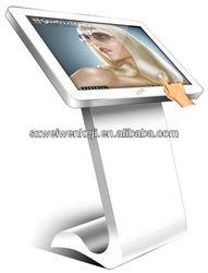 touch screen loudspeakers wedge kiosk terminal
