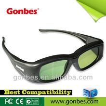 Active Shutter 3D Glasses for IR and BT 3D TV of Samsung/ Sharp/ LG/ PANASONIC/ CHANGHONG 3d t