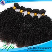 Unprocessed 100% virgin brazilian human hair