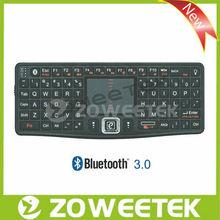 Hot!!! Portable bluetooth keyboard, backlit keyboard, external keyboard for mobile phone