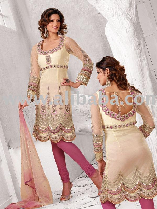 Bordado ropa de diseño indio trajes PUNJABI