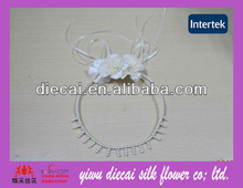 European style popular bridal pearl jewelry wreath comb