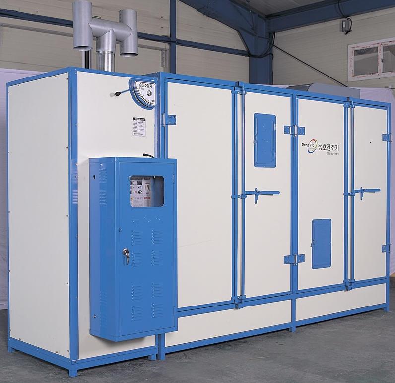 Industrial secador de bandeja, gabinete de la secadora para los alimentos por glp/quemador de aceite