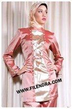 elegant silky Islamic Clothing