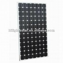 high efficiency best price monocrystalline solar panel price india with TUV,CE,ISO,CEC