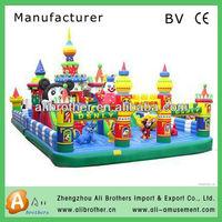 Differient shapes hot sale ,cheap!!!China brand amusement park ride bouncy castles inflatables for sale