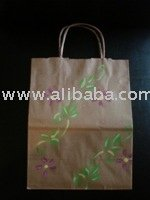 Hand Painted Paper Bags