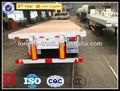 China fabricante de utilidad remolque de camiones de cama plana semi-remolque