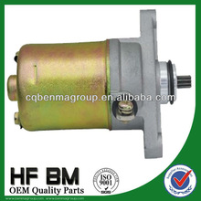 Motorcycle starting motor GY6 ,50cc starter motor factory directly sell with best price !
