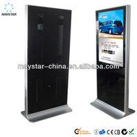 55 Inch full HD indoor Media Kiosk Advertising led/LCD Screen