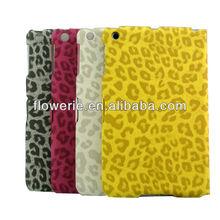 FL2027 Leopard print leather case for iPad mini