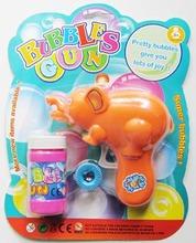 Outdoor funny player bubble gun toys bubble game