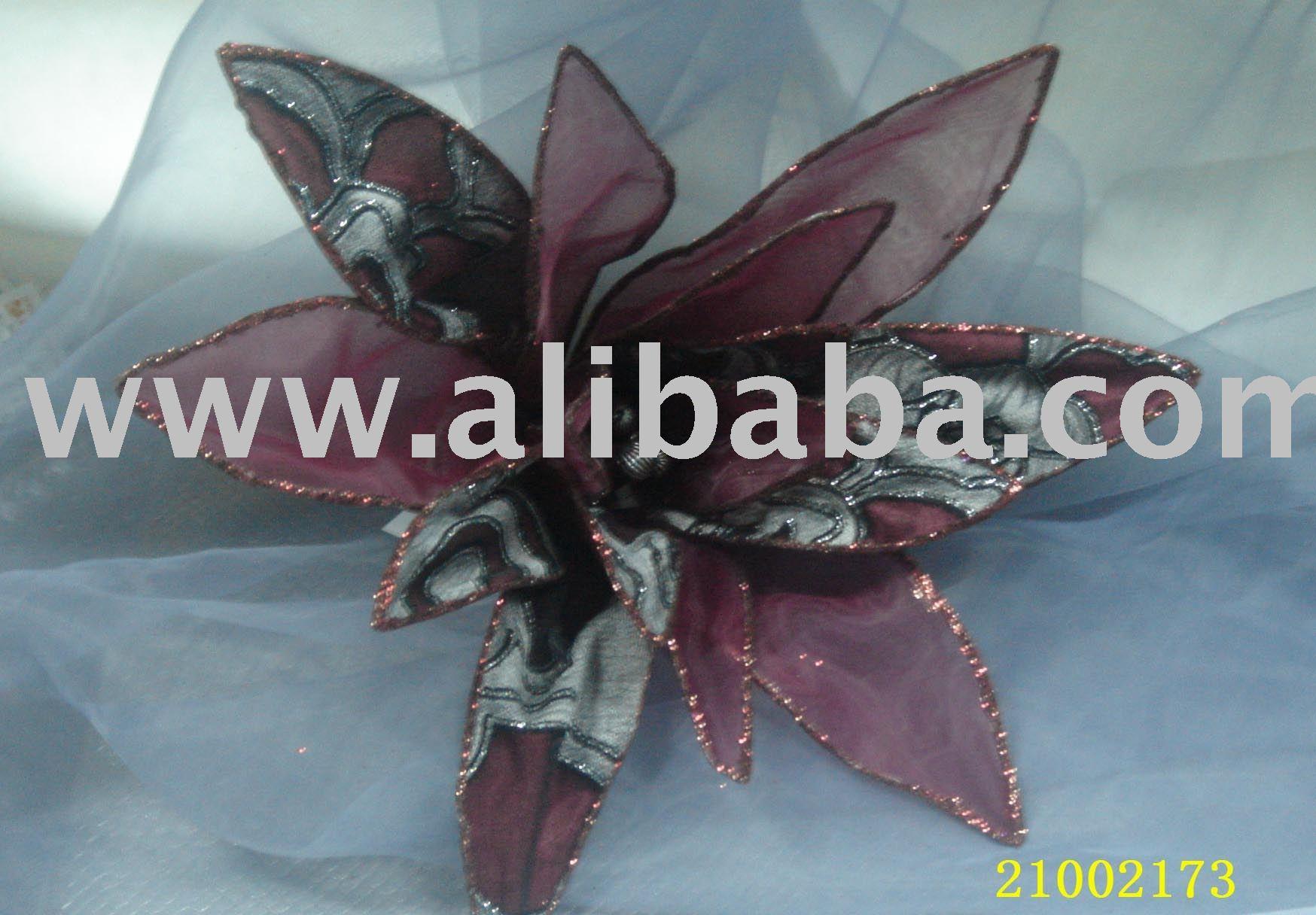 زهرة عيد الميلاد - الفنون والحرف - زخرفة زهرة - زينة الأعياد