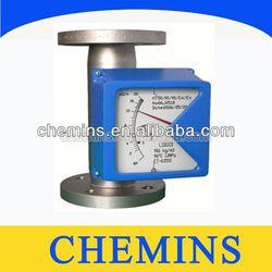 Metal tube flow meter asphalt flow meter
