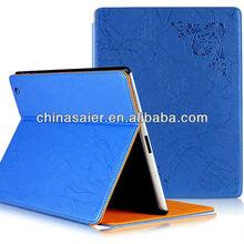 for ipad mini 370 degree rotating leather Pu case for ipad mini