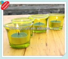 green glass bottle/glass candle hoder/vase/yogurt glass cups