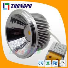 18W New AR111 COB LED Spotlight with 24 degree narrow angle