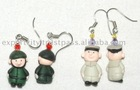 Soldier and Sailor clay earring for Kids, Teens