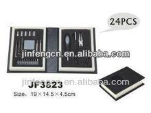 24 pcs promotional plastic book tool kit