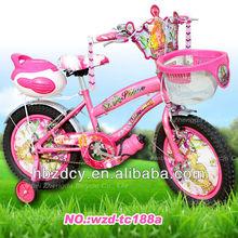 Mhst fille fleur princesse BMX vélo, Rose, Pouces bicicletas