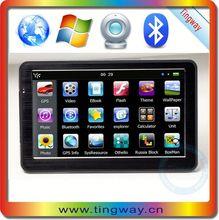 7'gps dvr navigator lcd av monitor with FM,MP3,MP4,wifi,dvr,bluetooth