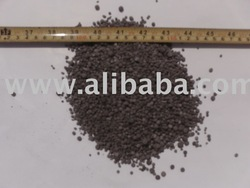 palm bunch ash granular