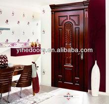 Supply solid wood door mahogany solid wood door wardrobe door, famous EHE brand