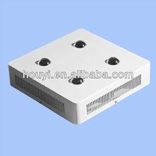 houyi grow led lens COB 50w chip indoor&outdoor COB+Lens grow lighting 100w/200w/300w/400w/450w high lumen 200w led grow
