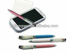 2013hot selling crystal ball pen stylus pen samsung n8000