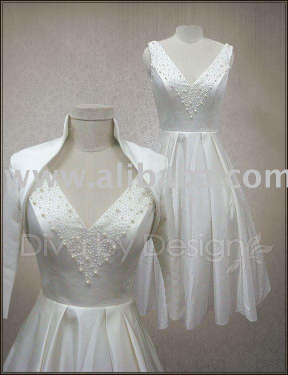 Wholesale Vintage Retro 50s Style Short Wedding Dresses Reception Bridal