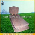 pink granite poland tombstone/ nagrobek/pomniki nagrobki