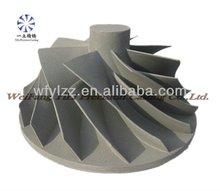 Aluminum die casting compressor wheel used for perkins engine parts