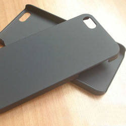 black and white blank sublimation case for iphone 5