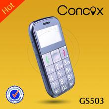 Concox popular large font phone for elder GS503