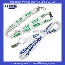 customized nylon keychain holder lanyard