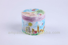 Bespokecolorful printed Cosmetic Paper box for baby's talcum powder