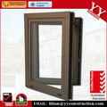 Inclinar y girar la ventana, pvc o de aluminio del marco, recubrimiento podwer, anodizado acabado